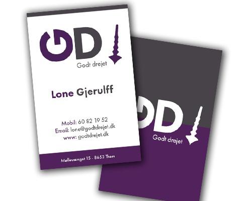 Grafisk Design - Visitkort Design