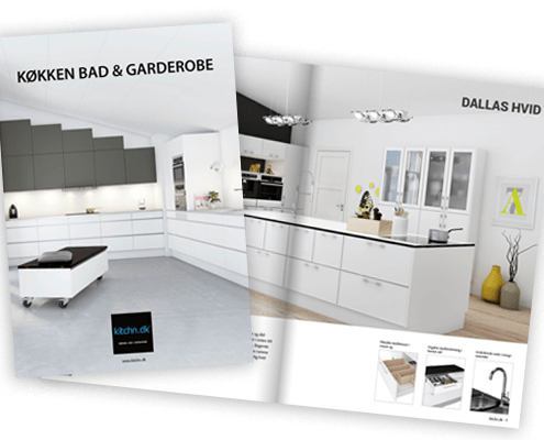 Kitchn.dk brochure