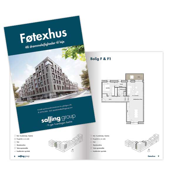 Schmidt Grafisk designer prospect til Føtexhus og Sallinggroup